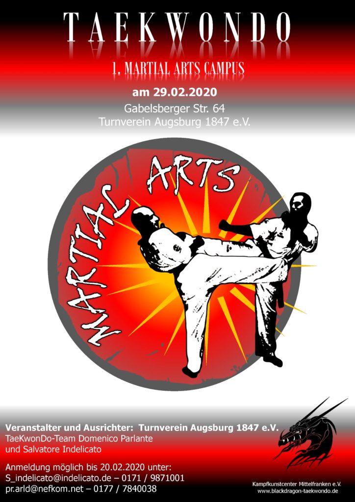 Taekwondo - 1. Martial Arts Campus am 29. Februar 2020 - Seite 1